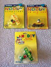 3 x ERTL Noddy Vehicles in Original Packaging