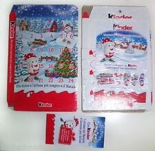 Kinder CALENDARIO AVVENTO con Pah Edizione Natale Diorama