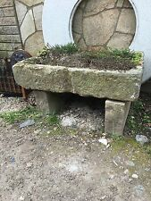 J DAY  - Original Reclaimed Stone Sink Trough Planter - Collect Herts AL4