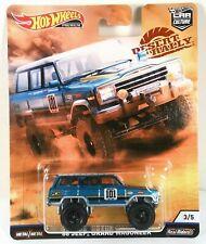 Hot Wheels 1:64 Car Culture Desert Rally 88 Jeep Grand Wagoneer
