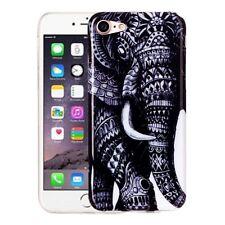 Hardcase für Apple iPhone 7 Schutzhülle Tasche Cover Etui Elefant Tier Afrika