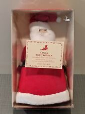 Pottery Barn Kids Felt Santa Christmas Tree Topper