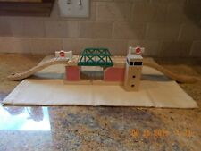 Thomas and Friends Wooden Railway Lifting Bridge Clickety Clack w/ Ramps