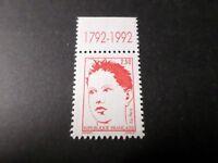 FRANCE 1992 timbre 2773c avec SIGLE BICENTENAIRE, RAYSSE, ART, neuf**, MNH