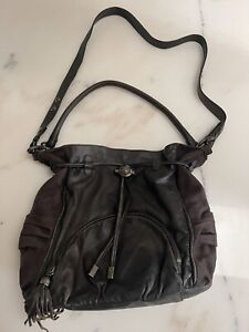 💜💜💜 Fintasia Very Rare Black Mimco Handbag Bag 💜💜💜