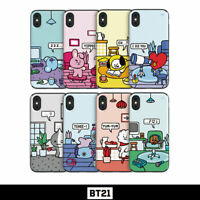 BTS BT21 Official Authentic Goods Guard Up Case Roomies Series By GCASE