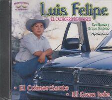 LUIS FELIPE EL CACHORRO DE JALISCO CD NEW