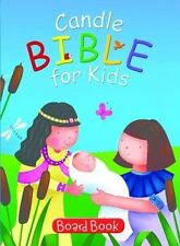 Candle Bible for Kids Board Book by Juliet David (2014, Board Book)