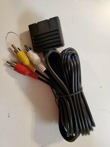 Atari Jaguar COMPOSITE MONITOR Audio/Video(AV) Cable NEW Compatible