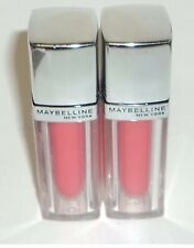 2 Maybelline Color Elixir PEARLESCENT PEACH 520 Lip Stick Factory Sealed
