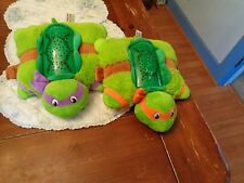 DREAM LITES PILLOW PETS TEENAGE MUTANT NINJA TURTLES DONATELLO & MICHELANGELO