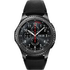 SAMSUNG Gear S3 Frontier Smartwatch Silikon 22 mm Korpus Space Gray Silikon NEU