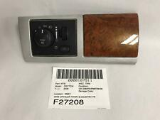 2008 TOWN & COUNTRY FRONT DASH HEADLIGHT FOG LIGHT SWITCH WOOD TRIM 1ED37TRMAA