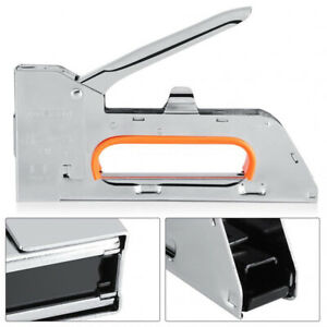 2500 x Staples Metal Staple Gun Upholstery Tacker Manual 4mm-6mm-8mm With UK