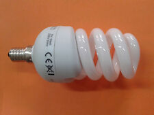 LOTTO STOCK PZ 10 LAMPADINE LAMPADA 11 W E14 BASSO CONSUMO SPIRALE  LUCE FREDDA
