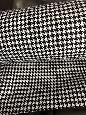 holden Monaro ToranaHQ/HT/LC black /white houndstooth cloth insert 3 mtrs only