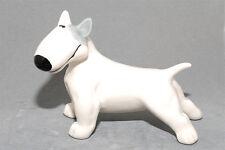 Bull Terrier ceramic dog figurine. Great gift for dog lovers.
