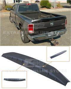 EOS For 09-18 Ram 1500 2500 3500 | PRIMER BLACK Tailgate Rear Trunk Wing Spoiler