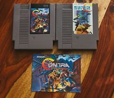Contra: Force (Nintendo Entertainment System, 1992) NES with manual and SUPER C