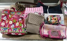 Wholesale Purse Lot USED Bulk Resale Vera Bradley,Fuentes,Hello Kitty (PW2)
