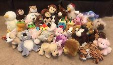 Webkinz Stuffed Animal Lot Of 35 - No Tags/codes