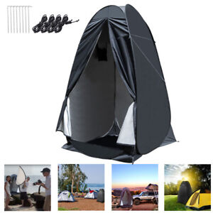 Portable Tent Pop Up Privacy Shower Dressing Room Outdoor Camping Toilet Shelter