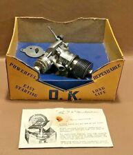 NIB O.K. Super .60 Spark Ignition Model Airplane Engine