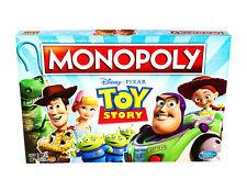 New Disney Pixar Toy Story 4 Monopoly Buzz Woody Jessie Bo Peep Board Game