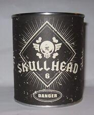 Fully Visual SKULLHEAD Huck Gee 37/100 Silver Plated Metal Limited Skull Signed