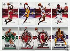 2004-05 SP Authentic Basketball Set - W/Essentials - 130 Cards
