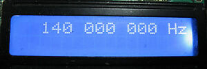 FREQUENCY COUNTER 170 MHZ 1 HZ RESOLUTION