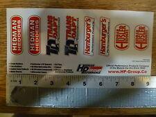 Hedman Group 8 sticker sheet Sticker Decal