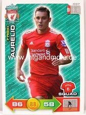 Adrenalyn XL Liverpool FC 11/12 - #037 Fabio Aurelio - Squad