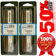 DELL ORIGINAL 16GB kit 2Rx4 PC3-10600R DDR3 SNPX3R5MC/8G GENUINE 2x8GB