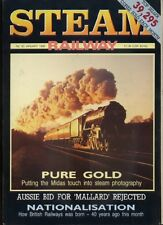 STEAM RAILWAY MAGAZINE - January 1988