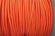1 M Arancione Seta coperti 3 Core Di Luce Flex Filo Intrecciato Corda B12 Lampada a sospensione