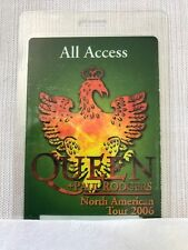 Queen + Paul Rodgers 2006 - North American Tour - Laminate all access pass