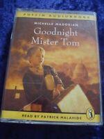 AUDIO CASSETTE BOOK.GOODNIGHT MISTER TOM.PUFFIN BOOKS.PATRICK MALAHIDE.2 TAPES.