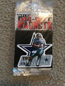NFL Die Cut Magnets Troy Aikman Dallas Cowboys Special Collectible
