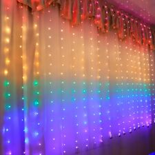 210LED Indoor Outdoor Christmas String Fairy Curtain Light Holiday Wedding Docor