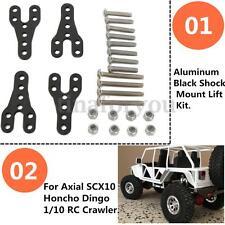 Aluminum Shock Mount Lift Kit for Axial Honcho Dingo SCX10 1/10 RC Car Crawler