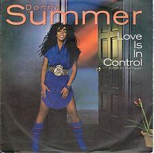 disco 45 GIRI Donna SUMMER LOVE IS IN CONTROL - SOMETIMES LIKE BUTTERFLIES
