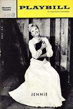 """Mary Martin """"JENNIE"""" Ethel Shutta / Schwartz & Dietz 1963 FLOP Premiere Playbill"""