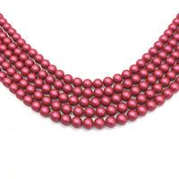 100 Swarovski 5810 6mm Crystal Round Pearl Beads diy jewelry MULBERRY PINK *NEW