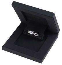 Slim Hidden Proposal Engagement Ring Box - Luxurious