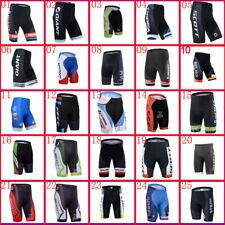 Team Mens Cycling Shorts Road Racing Bottoms Bicycle Pants 3D Gel Padded Shorts