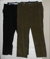 Chaps mens corduroy pants classic fit straight leg asst. sizes and colors NWT