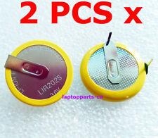 2 PCs x 3.6V Rechargeable Battery LIR2025 For BMW 3 5 Series E46 E39 Remote Key