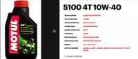 104066  1 LT OLIO MOTORE MOTO MOTUL 5100 10W40 MA2 4 TEMPI TECHNOSYNTHESE ESTERE