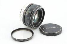 MINOLTA MC ROKKOR-PF 55mm f/1.7 Very Good Condition #979